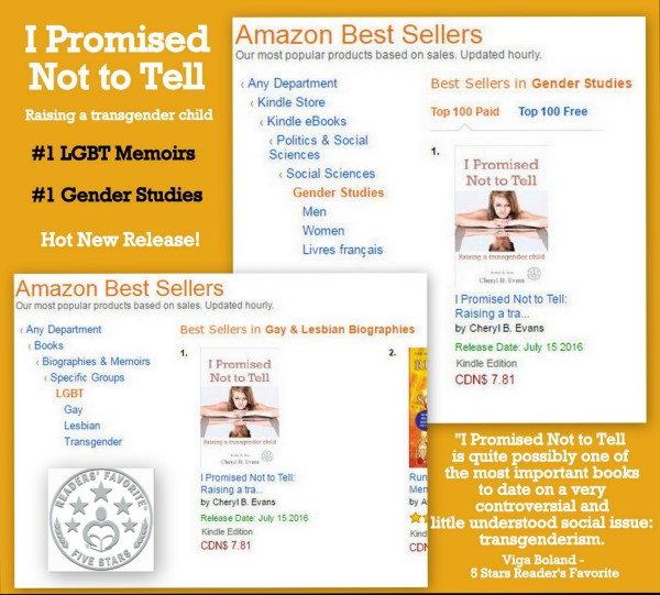best selling transgender books